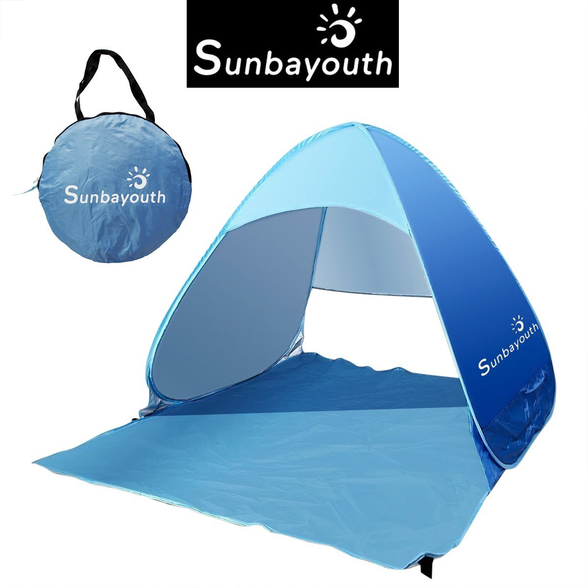Lightweight Portable Pop Up Beach Tent Sun Shade UV 50+ Protection Canopy Outdoor Automatic  sc 1 st  Walmart & Lightweight Portable Pop Up Beach Tent Sun Shade UV 50+ Protection ...