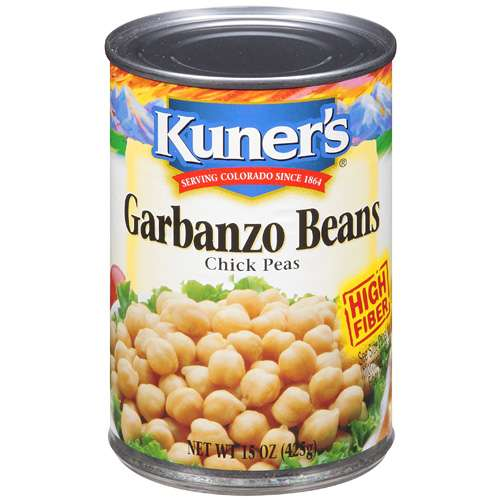 Kuner's Garbanzo Chick Pea Beans, 15 oz