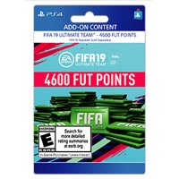 FIFA 19 4600 FUT POINTS, EA, Playstation, [Digital Download]