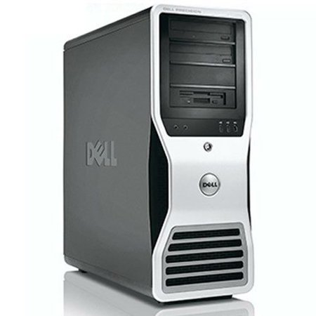 Dell Precision Workstation Desktop Computer Tower PC Xeon Quad 2.4GHz Processor 8GB RAM 500GB Hard Drive Windows 10 Pro Dual Video Ready! Refurbished