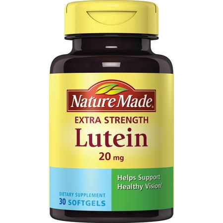 Nature Made® Lutein 20 mg. Softgels 300 Mg Natures Way