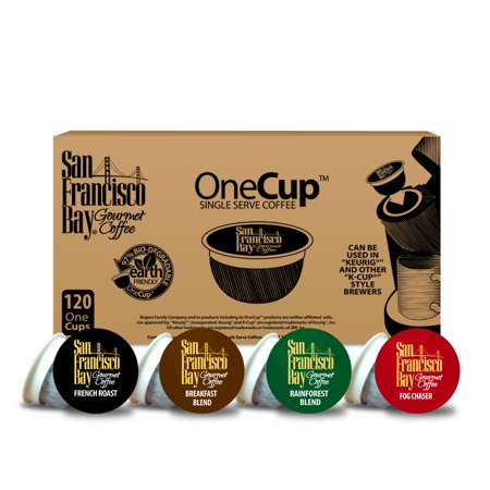 (San Francisco Bay OneCup Coffee Pods, Variety Pack, 120 Count)