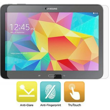 Lcd Anti Glare Film - Anti-Glare Screen Protector Matte Anti-Fingerprint LCD Cover Display Film Guard [Fingerprint Resistant] PWP for Samsung Galaxy Tab 4 10.1 SM-T530