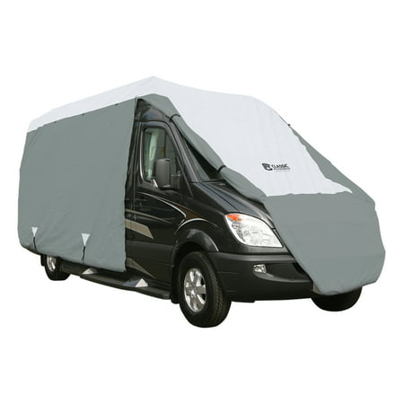 Classic Accessories OverDrive PolyPRO 3 Deluxe Class B RV Cover, Fits 25' - 27'