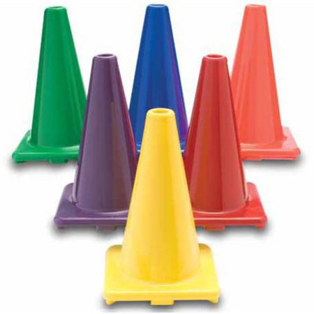 Colored Game Cones (Replacement Bonkerball Cones, 12