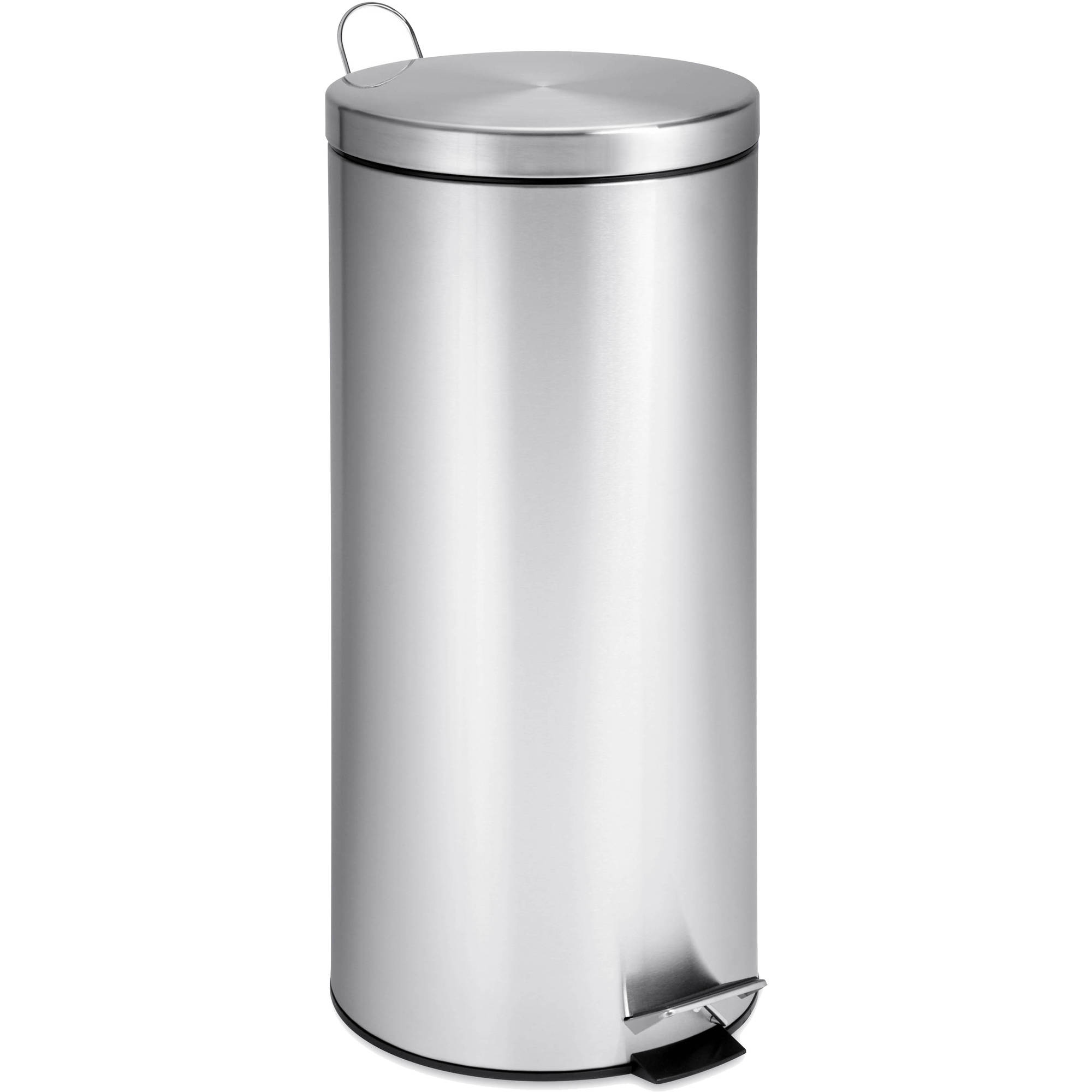 Honey Can Do 30-Liter Round Stainless Steel Can with Bucket
