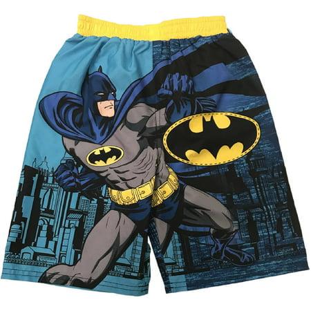 3942288a7b Batman - Toddler Boy Graphic Swim Trunks - Walmart.com