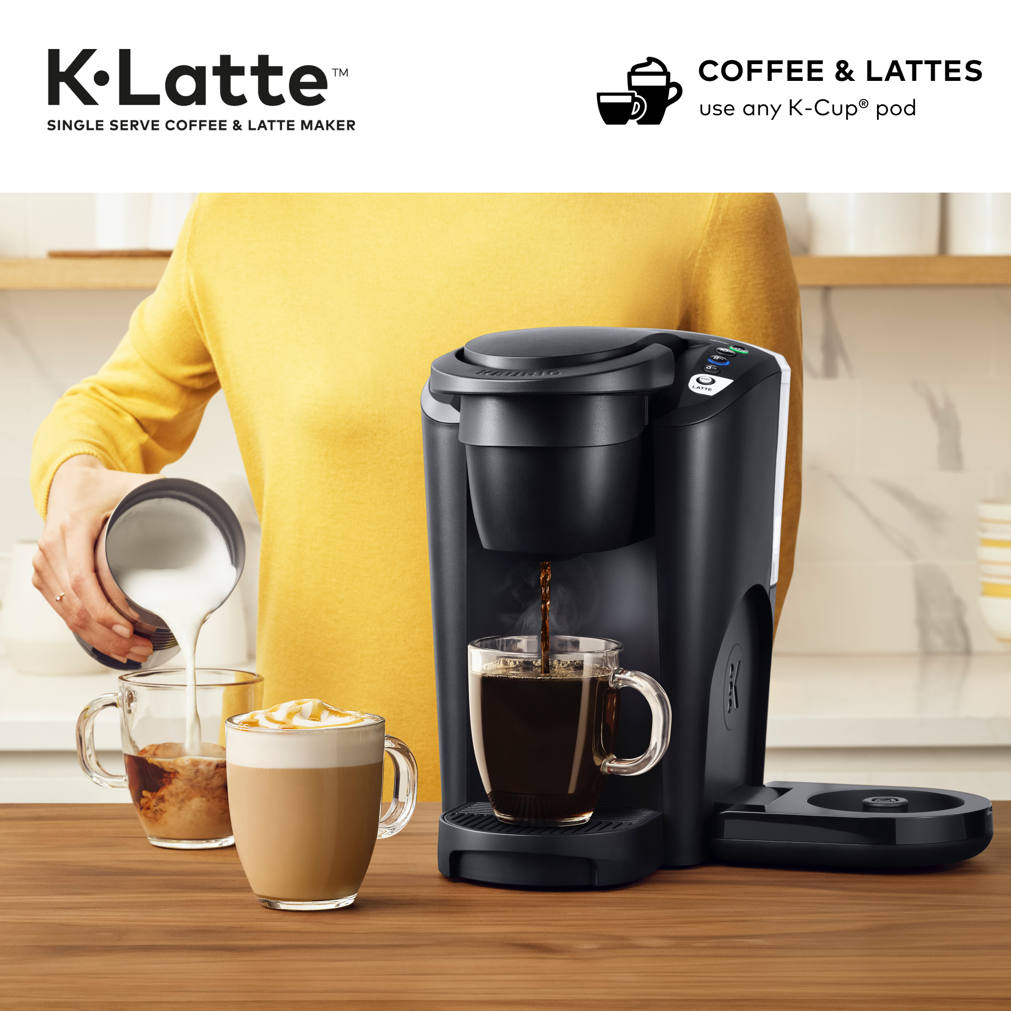 Keurig K-Latte Single Serve K-...