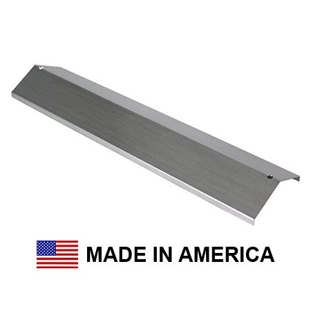 USA-Made Brinkmann Heat Shield, Stainless Steel | 15-3/8