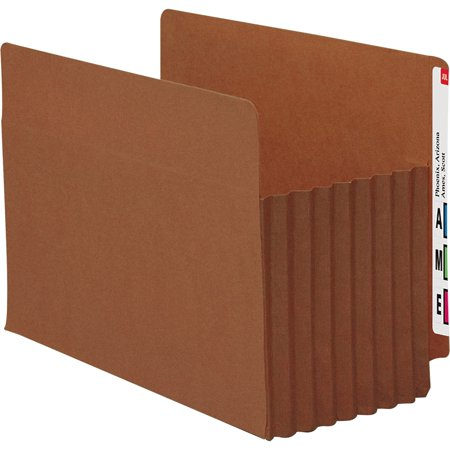 Smead, SMD73795, Tuff Pocket End Tab File Pockets, 5 / Box, Redrope - File Jackets Redrope End