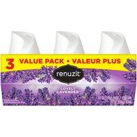 Renuzit Gel Air Freshener, Lovely Lavender, 7.0 Ounce, 3 Count
