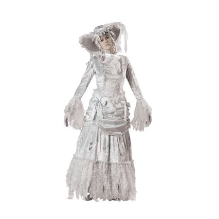 Adult Ghostly Lady Halloween Costume Size Small