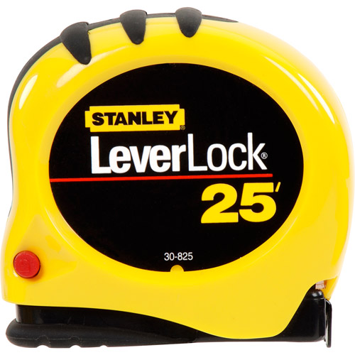 Stanley 25' Leverlock Tape Measure, 30-825