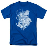 Rise Of The Guardians Coming For You Mens Short Sleeve Shirt