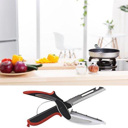 Multi-Function Food Scissors Vegetable Scissors Stainless Steel Scissors - image 4 of 6