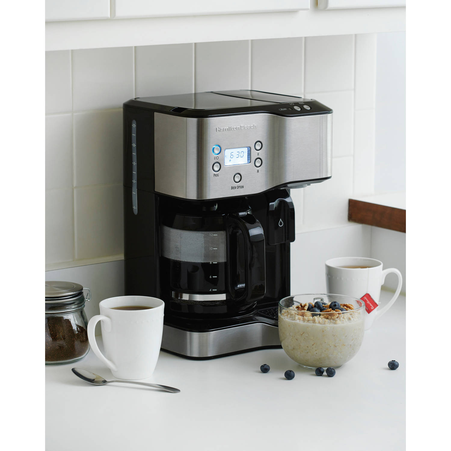 Hamilton Beach 12 Cup Coffeemaker with Hot Water Dispensing | Model# 49982