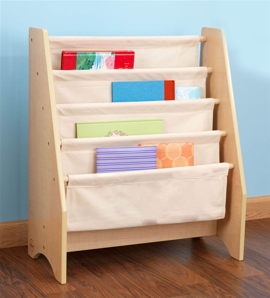 24 in. Sling Bookshelf (Natural)