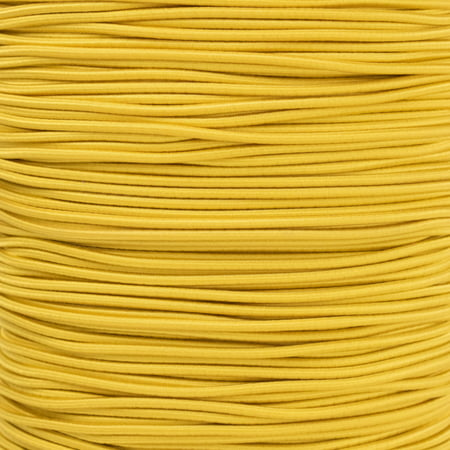 - Paracord Planet 2.5mm Elastic Bungee Nylon Shock Cord Crafting Stretch String - Various Colors - 10, 25, 50 and 100 Foot Lengths - Made in USA