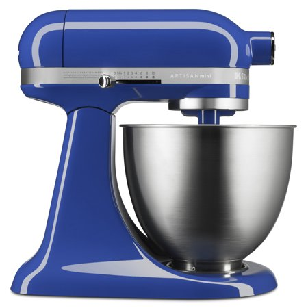Kitchenaid Artisan Mini 3 5 Quart Tilt Head Stand Mixer  Twilight Blue  Ksm3311xtb