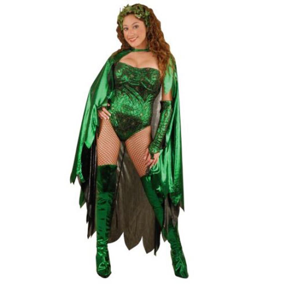 New Music Legs 70768 Poisonous Villain Costume