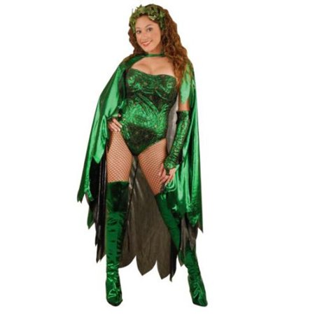 Adult Poison Ivy Costume~X-Large / Green
