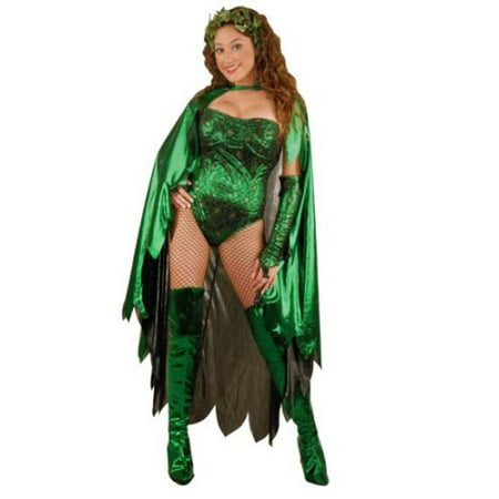 Adult Poison Ivy Costume~X-Large / Green](Poison Ivy Customes)