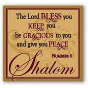 """Candle-Frankincense & Myrrh-Shalom (3"""")"""