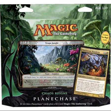 - Magic The Gathering Planechase 2012 Chaos Reigns Deck [Japanese]