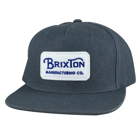 972dbd959ac Brixton - Brixton Manufacturing Co. Grade Denim Snapback Hat Cap - Baby  Blue - Walmart.com