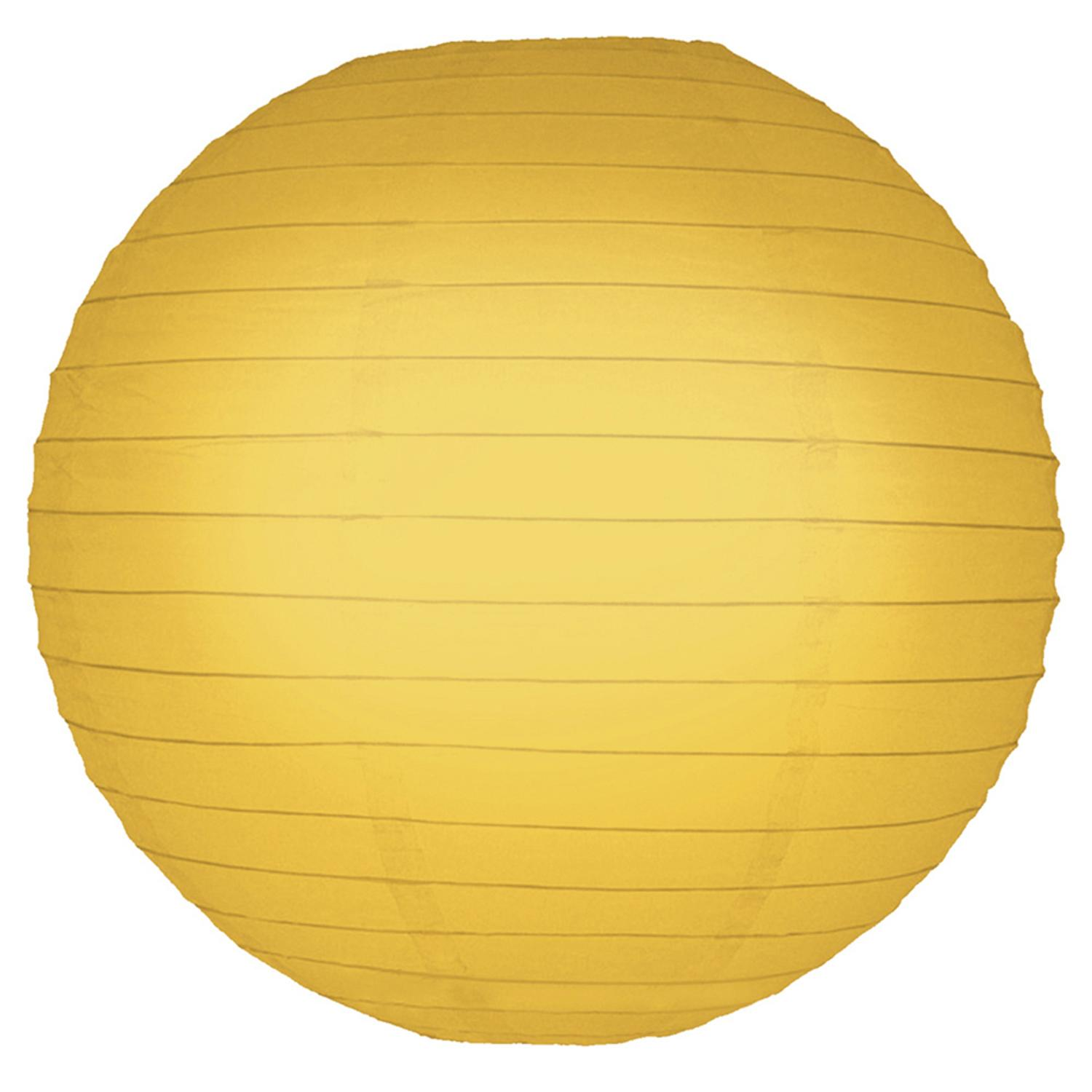Pack of 5 Sunflower Orange Yellow Garden Patio Round Chinese Paper Lanterns 10""