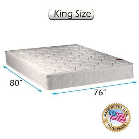 Legacy Gentle Firm King Size  76  X80  X8    Mattress Only   Fully Assembled  Good For Your Back  Longlasting  Orthopedic  Superior Quality   One Sided   None Flip By Dream Solutions Usa