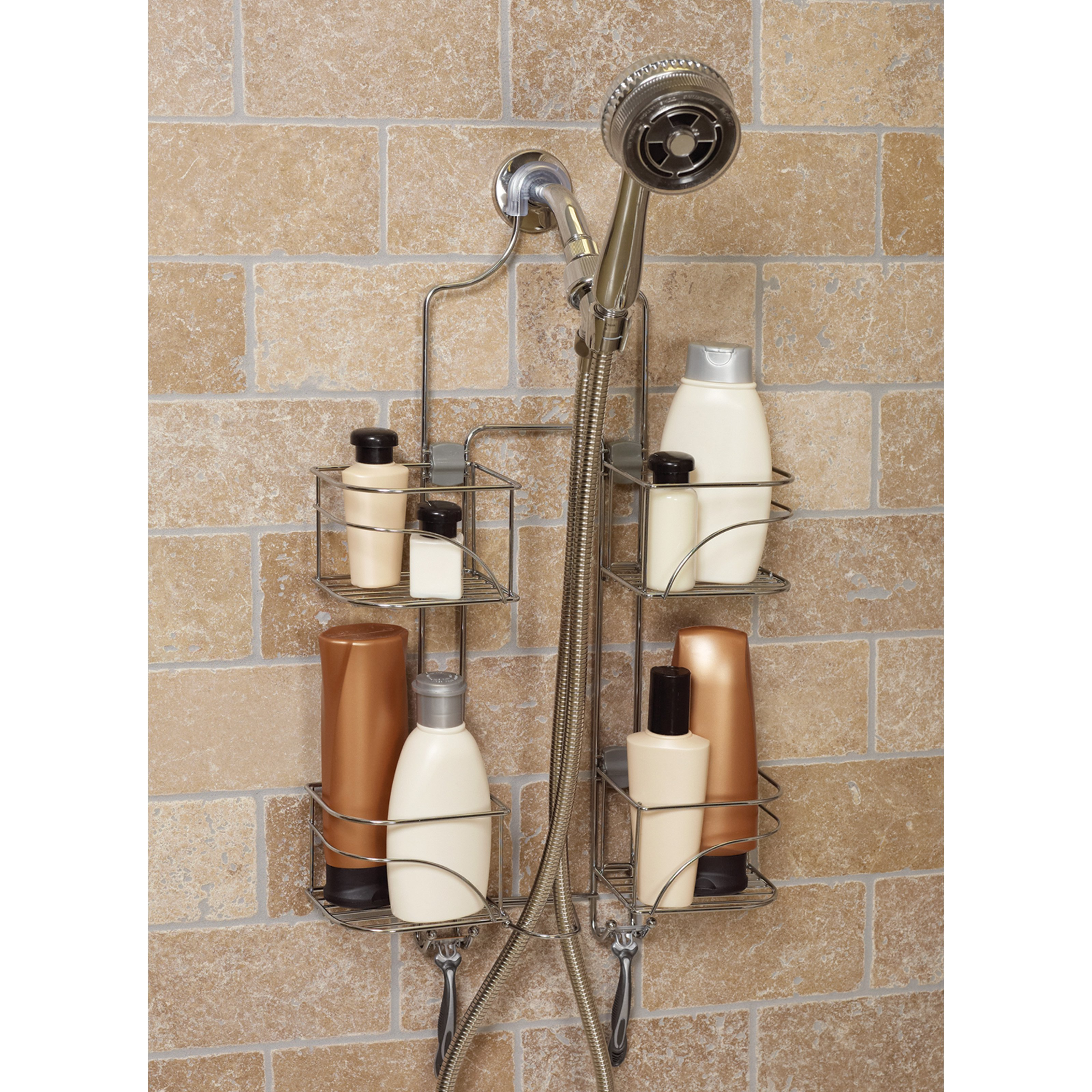 Zenith E7446SS Expandable Shower Caddy for Hand Held Shower