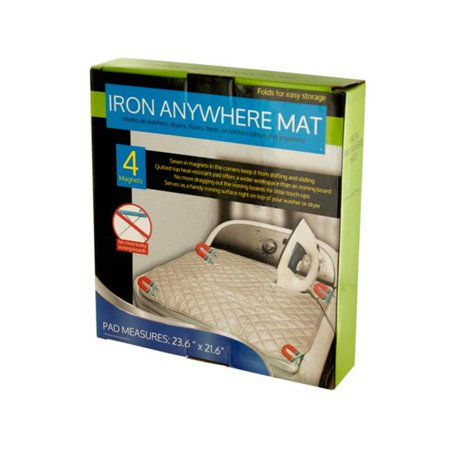 Bulk Buys OL372-4 Iron Anywhere Mat with Magnets, Pack of 4](Bulk Magnets)