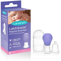 2 Pack - Lansinoh Latch Assist Nipple Everter 1 ea