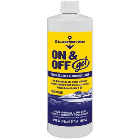 Marykate On and Off Gel Hull and Bottom Cleaner, 32