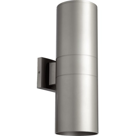 Wall Sconces 2 Light With Graphite Finish Medium Base Bulb Type 6 inch 180 Watts