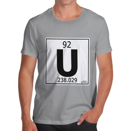 Mens t shirt periodic table element u uranium funny tshirts mens t shirt periodic table element u uranium funny tshirts walmart urtaz Choice Image