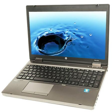 Refurbished HP ProBook 6560B i5 2.5GHz 4GB 320GB DVD Windows 10 Pro 64 Laptop B