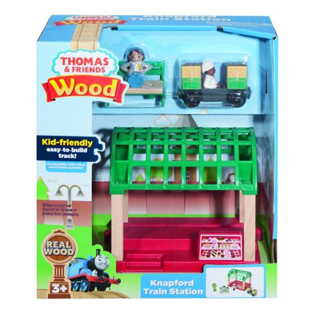 Knapford Train Station 2018 Wooden Thomas & Friends Train by Fisher-Price