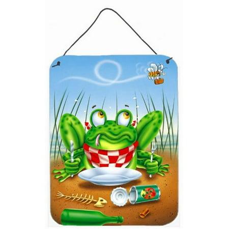 Frog Happy Plate Wall or Door Hanging Prints - image 1 de 1