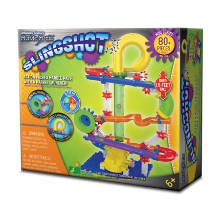 The Learning Journey 241806 Techno Gears Marble Mania - Slingshot - 80
