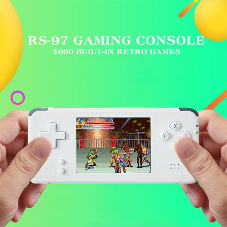 RS-97 Portable Mini Handle Gaming Console 3000 Built-in Retro Games 3'' LCD Screen 16GB Birthday Gift for