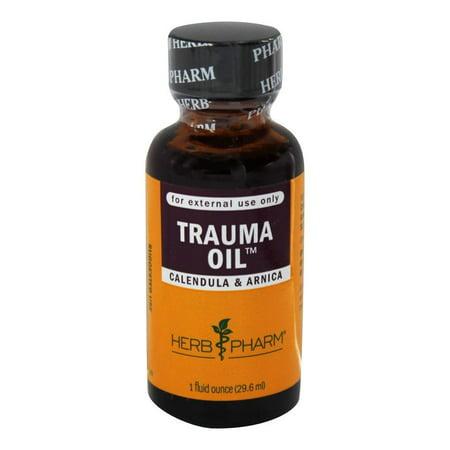 Herb Pharm Trauma Oil - Calendula et Arnica - 1 oz