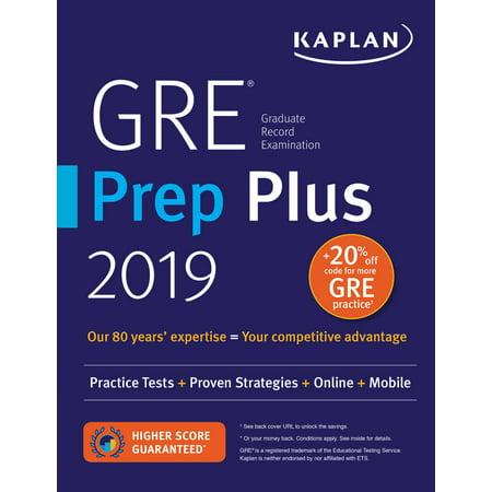GRE Prep Plus 2019 : Practice Tests + Proven Strategies + Online + Video + Mobile - Halloweentown Online