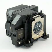 Epson ELP-LP67 Projector Housing with Genuine Original OEM Bulb