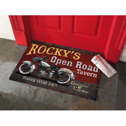 """Personalized Doormat, 17"""" x 27"""""""