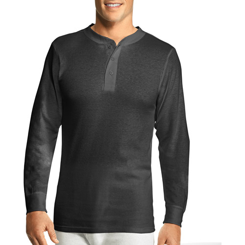 Hanes Men's X-Temp Thermal Underwear Henley