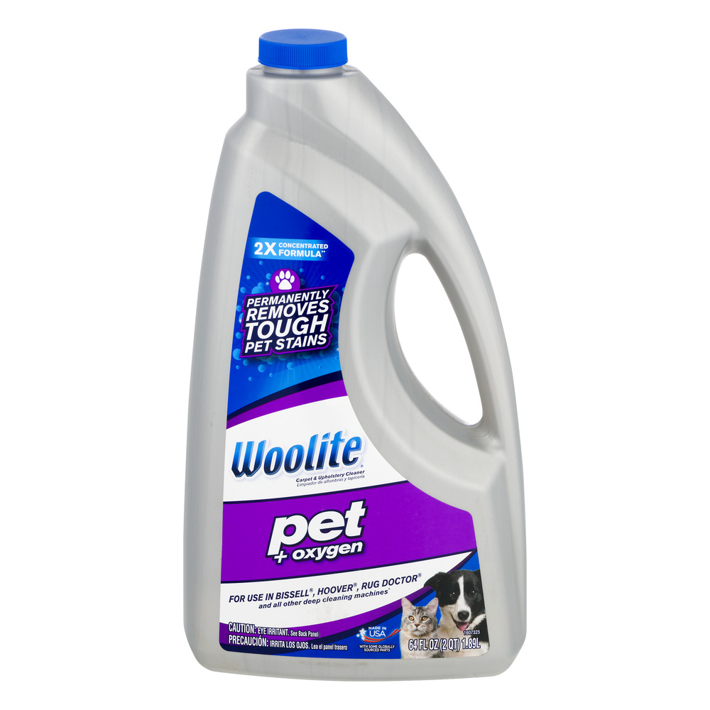 Woolite Pet + Oxygen Carpet & Upholstery Cleaner, 64.0 FL OZ