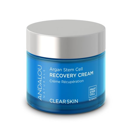 Andalou Naturals Clarifying Clear Overnight Recovery Cream, 1.7 Oz