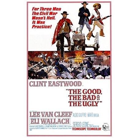 The Good The Bad And The Ugly Poster Vintage Movie Poster b - Clint Eastwood New 24x36](Only Bad Witches Are Ugly)